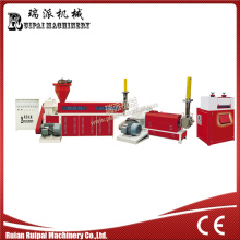 Two Stage Water Cooling Plastic Extruder Machine