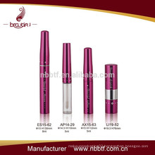 2015 Hot pink girls cosmetic sets with mascara eyeliner bottles