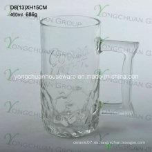 460ml Niza taza de cerveza de vidrio de la moda