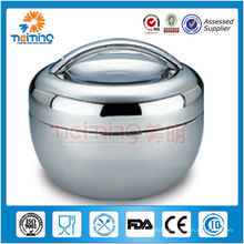 800ml apple shaped stainless steel insulated food warmers