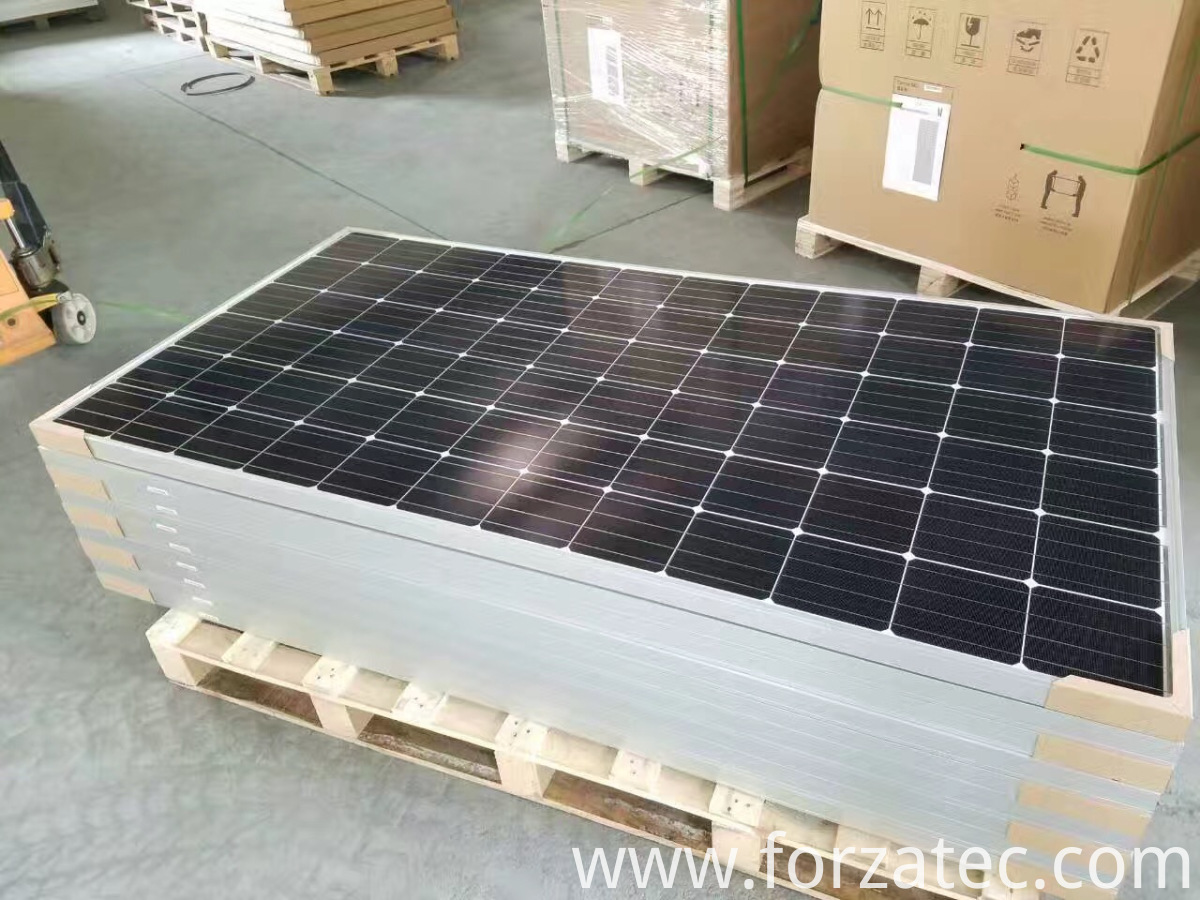 mono solar panel of 4 busbar