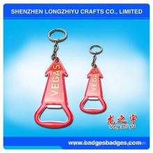 Red Bottle Opener Souvenir Key Chain