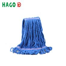 Tête de vadrouille humide en coton bon marché pour le nettoyage des sols