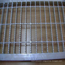 Galvanized Serrated Steel Floor Bar Grating
