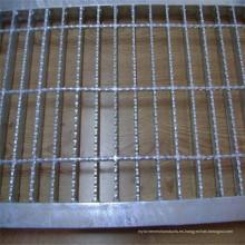 Rejilla de barra de piso de acero serrado galvanizado