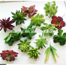 2016Hot продать искусственные растения искусственные небольших комнатных суккулентных растений декор мини-заводы