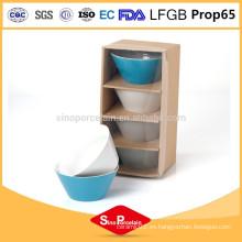 5.5 tazón cónico de cerámica con color sólido para BS12022