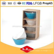 5.5 ceramic conical bowl with solid color for BS12022