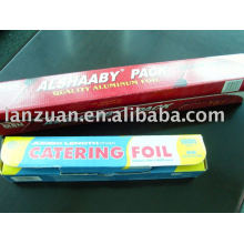 alu foil food wrapping