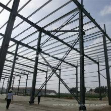 Hausbau Stahlkonstruktion Gebäude Wandverkleidung Material