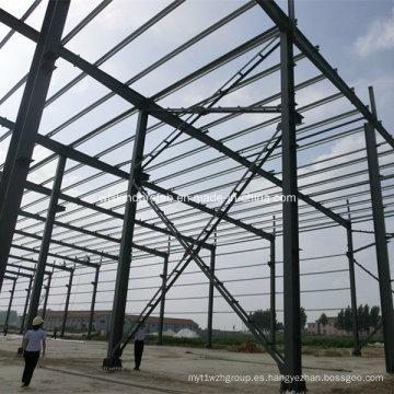Edificio de la casa Estructura de acero Edificio Panel de pared Material