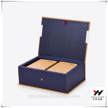 Cheap Black Cardboard Magnetic Gift Box With Lid
