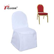 Top White Wasserdichte Bankett Stuhlhussen Möbelbezug für Hochzeitsfeier Event Catering
