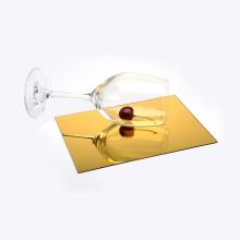 China Manufacture Gold Silver Flexible Acrylic Mirror Sheet