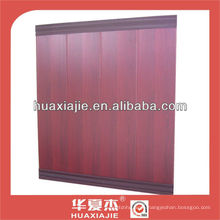 Laminated wall cladding panel for interior