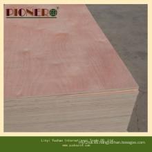 Carb P2 Bleached White Poplar Plywood para muebles de madera
