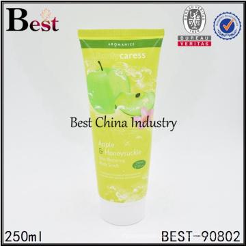 250ml coloreó el empaquetado cosmético vacío del tubo para la venta