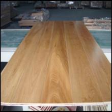 Plancher de bois franc machiné par chêne blanc choisi / plancher en bois