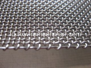 Selvedge Stainless Steel Wire Cloth
