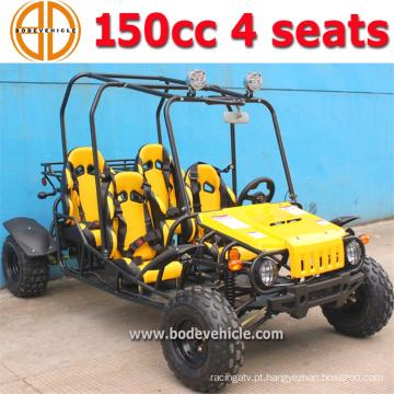 Bode novos garotos 150cc 4 assentos Gokart para venda preço de fábrica