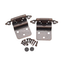 Furniture hardware iron easy installation cabinet hinge