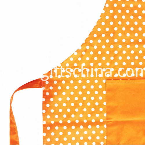 Promotional Cotton Apron W Branded Logo & Front Pocket