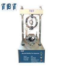 Betún TBT Asphalt Marshall Stability Testing Machine precio marshall prueba de asfalto
