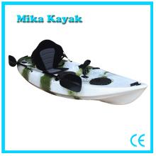Barco de pesca del océano del solo agua del kajak único para la venta