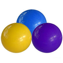 Boule ronde de yoga de PVC de boule de Pilate de tailles multiples