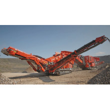 Gravel Mobile Tracked Screening Plant