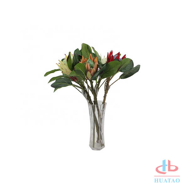 LUSIA-Factory-Direct-Wholesale-Artificial-Protea-50cm