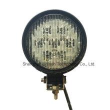Recientemente 5inch 12V 56W redondo LED lámparas de trabajo de la máquina