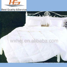 100% cotton white patchwork duvet
