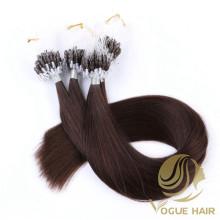 Extensiones de cabello cutícula remy micro loop