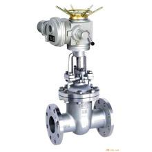 hochwertige POV Shanghai messer typ elektrische tor ventil dn50
