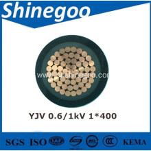 XLPE insulated electrical power cable for rated voltage 0.6/1kV