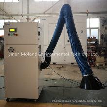 Extractor de humos de recolección de polvo de soldadura