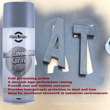 Pintura en aerosol de zinc pintura en aerosol de galvanización en frío