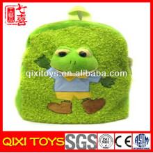 плюшевые лягушка пользовательские плюшевые рюкзак