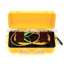 500M / 1KM Fibra Óptica OTDR Iniciar caja de cable con conector SC / LC / ST / FC, OTDR Lanzamiento Caja de fibra