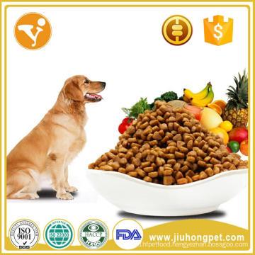 100% no additive beef flavor dog food dry
