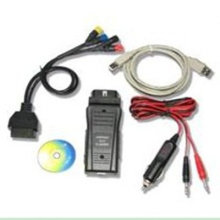 Kwp2000 Ecu Flasher Chip Tuning Tools With Led Indications For Power / Rx / Tx