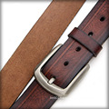 Hot Sale Top Brand Professional Real Leather Brown Belt