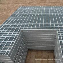 Anti-Rutsch / Krokodil-Mund-Checkered Plate / Treppenprofil / gezahntes Stahlgitter