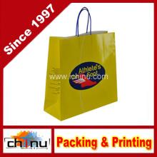 Bolsa de papel Kraft de la compra del regalo (2135)