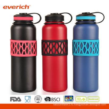 Красочный рукав двойной стены Vaccum 32oz из нержавеющей стали бутылки воды