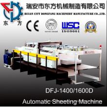 1400d máquina de corte del rollo de papel del servo motor