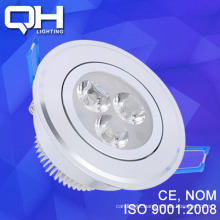 Hot Sale 3W LED Ceiling Spotlight Aluminium