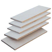 India hot sale warm white 18mm gloss matt finished Melamine plywood for furniture