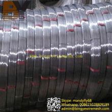 Alambre de acero ovalado galvanizado caliente